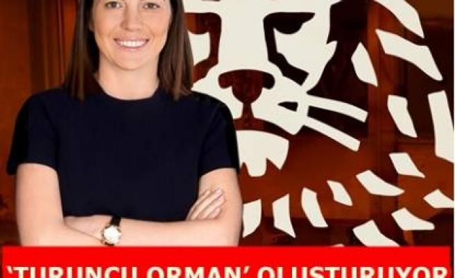 'TURUNCU ORMAN' OLUŞTURUYOR