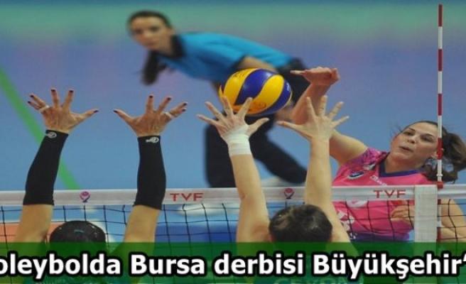 Voleybolda Bursa derbisi Büyükşehir´in