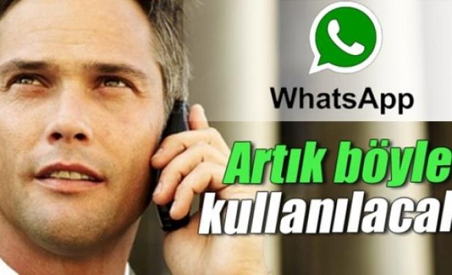WhatsApp sesli arama özelliği artık aktif!WhatsApp sesli arama özelliği nasıl yüklenir?