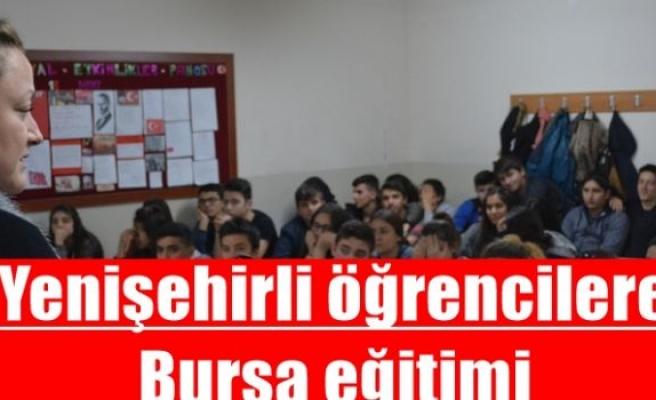 Yenişehirli öğrencilere Bursa eğitimi