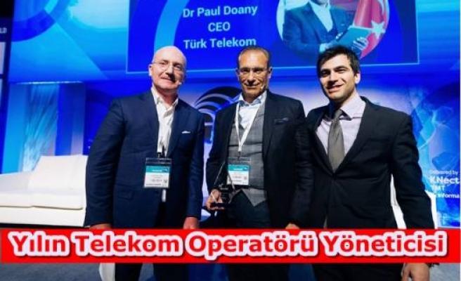 Yılın Telekom Operatörü Yöneticisi