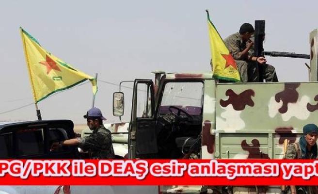 YPG/PKK ile DEAŞ esir anlaşması yaptı