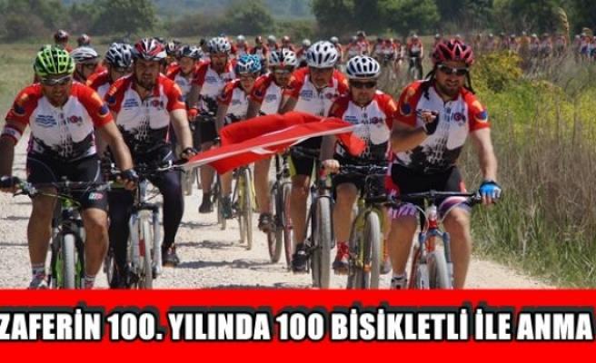 Zaferin 100. yılında 100 bisiklet ile anma