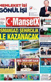 Bursa'nın En Güncel Haber Sitesi - Dünya ve Türkiye Haberlerini  Bizimle Yakalayın - 13 Nisan 2018 Manşeti