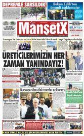 Bursa'nın En Güncel Haber Sitesi - Dünya ve Türkiye Haberlerini  Bizimle Yakalayın - 19 Haziran 2017 Manşeti