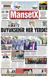 Bursa'nın En Güncel Haber Sitesi - Dünya ve Türkiye Haberlerini  Bizimle Yakalayın - 23 Haziran 2017 Manşeti