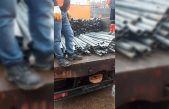 Kırklareli'nde otoyol kenarındaki 764 direk kesilerek çalındı