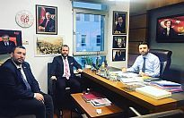 İNCE MEDYA'dan Mustafa Köse ziyareti