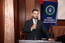 Bursa Büyükşehir Belediyespor'da nöbet değişimi