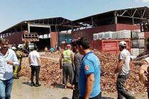 Bursa'da geri dönüşüm fabrikasında çıkan yangın söndürüldü