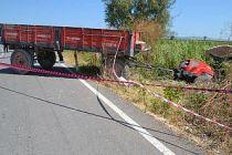 Bursa'da traktörle motosiklet çarpıştı: 1 ölü, 1 yaralı