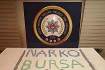 Bursa'da uyuşturucu operasyonunda 3 şüpheli yakalandı