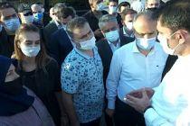 Çevre ve Şehircilik Bakanı Kurum, Bursa'da kentsel dönüşüm alanlarını inceledi