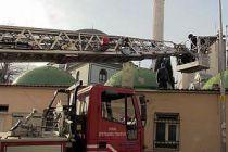 Bursa'da hırsızlık şüphelisi cami avlusunun çatısında yakalandı