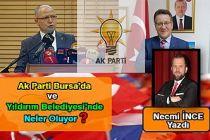 Necmi İnce Yazdı: Ak Parti Bursa'da ve Yıldırım Belediyesi'nde Neler Yaşandı?