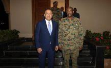 Dışişleri Bakanı Çavuşoğlu'nun Sudan Askeri Geçiş Konseyi Başkanı ile görüştü