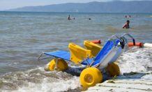 Bursa Büyükşehir Belediyesi'nden engelsiz plaj
