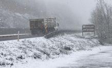 Zonguldak, Karabük, Bartın ve Sakarya'nın yüksek kesimlerinde kar yağışı etkili oluyor