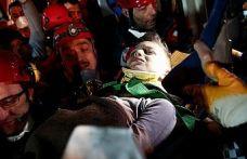 Mahmut Tayyip enkaz altından böyle kurtarıldı