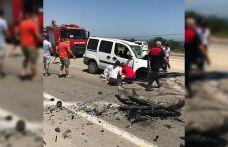 Çanakkale'de otomobil ile hafif ticari araç çarpıştı: 2 ölü, 2 yaralı
