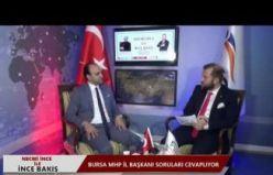 06.11.2018 İNCE BAKIŞ'ın bugünkü konuğu MHP Bursa İl Başkanı M. Cihangir Kalkancı oldu.