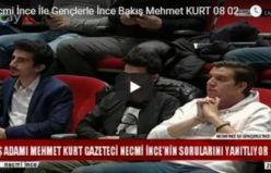Necmi İnce İle Gençlerle İnce Bakış Mehmet KURT 08 02 2018 Bölüm 1