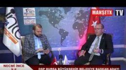 DSP Bursa Büyükşehir Belediye Başkan Adayı Ahmet Murat Özbilge