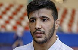 Arif Özen Dünya Gençler Güreş Şampiyonası'nda...