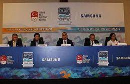 Samsung Boğaziçi Kıtalararası Yüzme Yarışı'na...