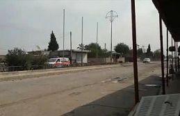 Teröristler Rasulayn'dan Kızılhaç ambulansları...