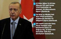 'YPG'li teröristler silahlarıyla beraber bölgenin...