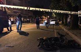 Sakarya'da otomobil ile motosiklet çarpıştı: 1...