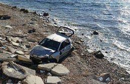 Balıkesir'de otomobille çarpışan motosikletin...