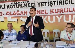 """TÜDKİYEB Başkanı Çelik: """"Hedefimiz küçükbaş..."""