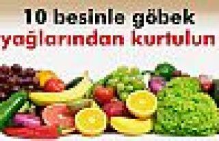 10 besinle göbek yağlarından kurtulun