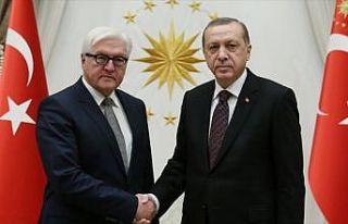 Cumhurbaşkanı Erdoğan ile Steinmeier telefonda...