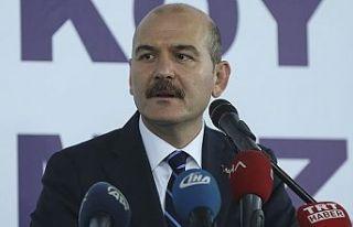 İçişleri Bakanı Soylu: Yurt içinde 790 civarında...