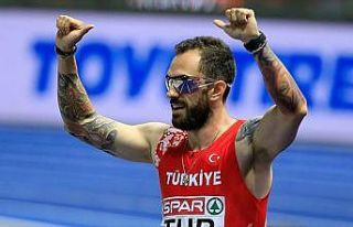 Ramil Guliyev Polonya'da üçüncü oldu