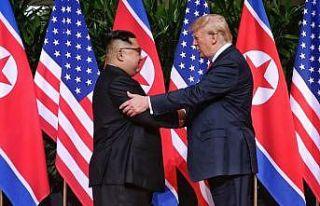 Trump, Kim'e