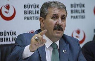 BBP Genel Başkanı Destici: Türkiye'nin oradan çekilmesi...