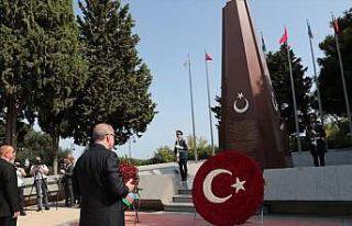Cumhurbaşkanı Erdoğan'dan Azerbaycan'da şehitlik...