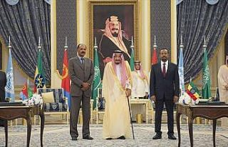 Etiyopya ve Eritre Suudi Arabistan'da barış anlaşması...