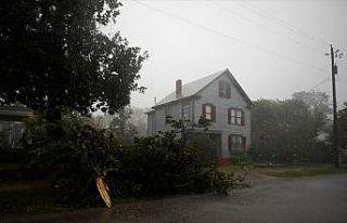Florence kasırgasının vurduğu Kuzey Carolina felaket...