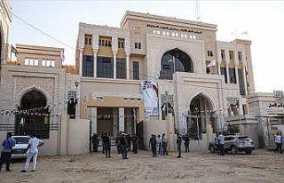 Gazze'de, Katar'ın finanse ettiği Adalet Sarayı...