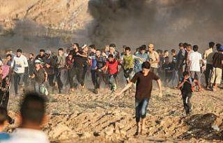 İsrail askerleri Gazze sınırında biri çocuk 3...