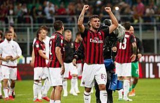 Milan uzatmada attığı golle kazandı