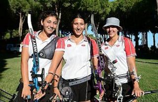 Türkiye Klasik Yay Kadın Milli Takımı Avrupa şampiyonu