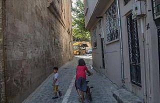 Urfa'nın tarihi sokakları yeni yüzüyle turizme...