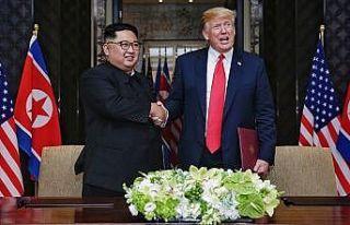 ABD Başkanı Trump: Kim ile tekrar görüşmeyi dört...