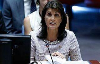 ABD'nin BM Daimi Temsilcisi Nikki Haley'nin istifa...